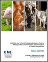 Report discusses antibiotic use among food-producing animal veterinarians
